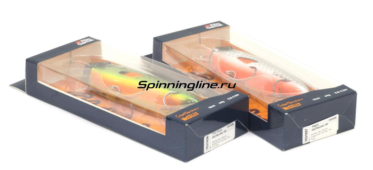 Воблер Abu Garcia Svartzonker McCelly 170 Real Hot Pike - Данное фото демонстрирует вид упаковки, а не товара. Товар на фото может отличаться по цвету, комплектации и т.д. Дизайн упаковки может быть изменен производителем 1