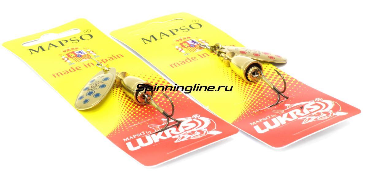 Блесна Lukris Vlason Lun 2 OA - Данное фото демонстрирует вид упаковки, а не товара. Товар на фото может отличаться по цвету, комплектации и т.д. Дизайн упаковки может быть изменен производителем 1