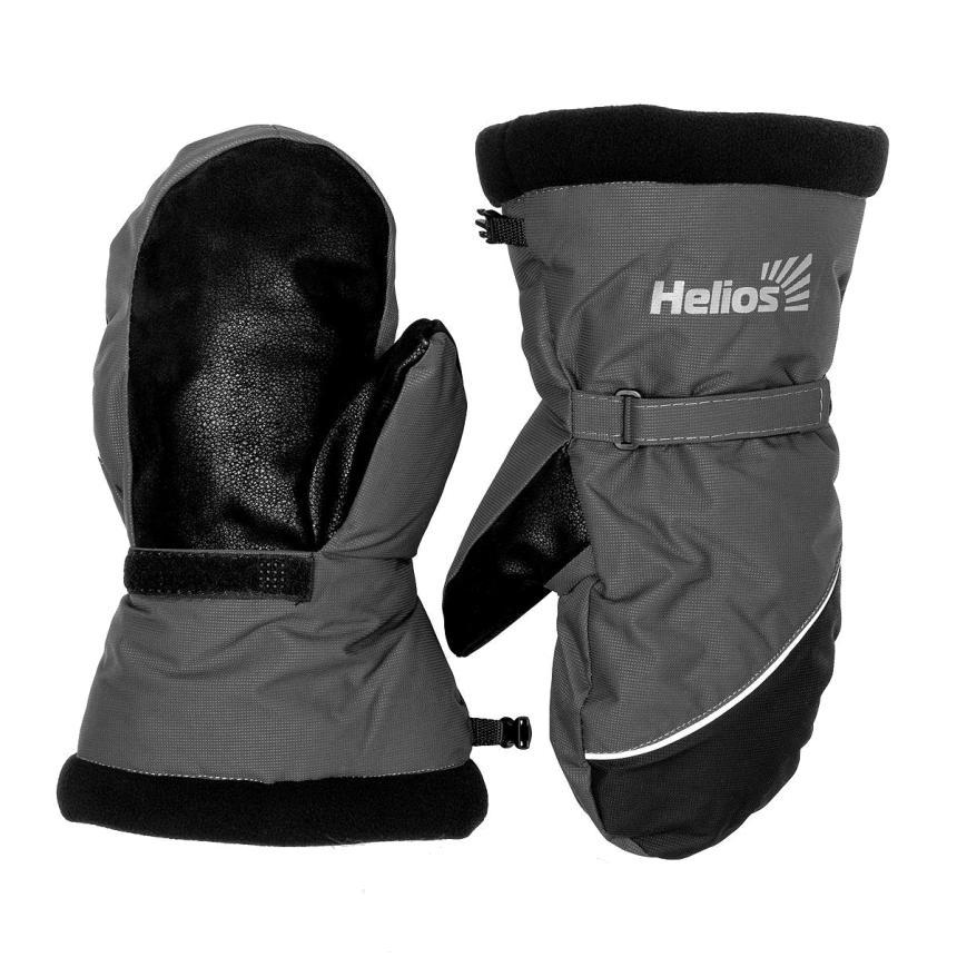Варежки Helios Nord L черно-серый - фото предоставленно поставщиком 1
