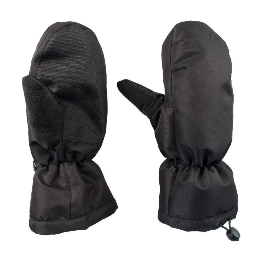 Варежки Helios короткий манжет XL-XXL черный - фото предоставлено поставщиком 1