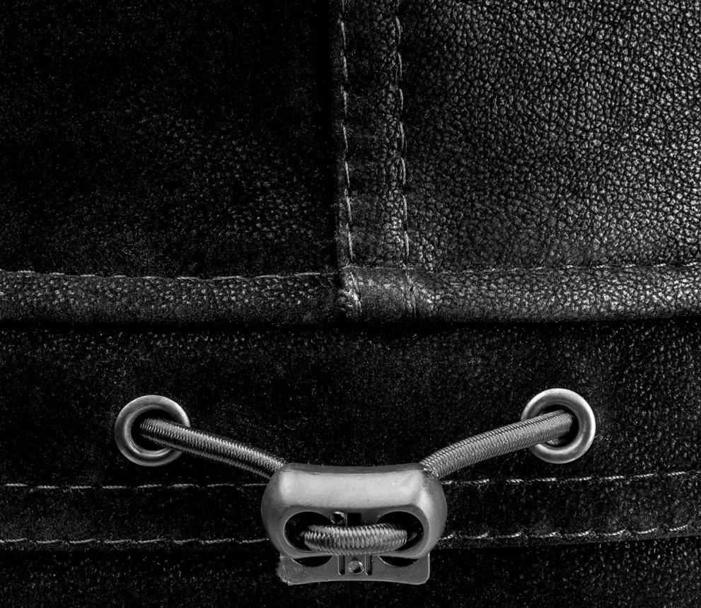 Шапка-ушанка Helios Angara Мех Меланж/Крэк Лайт XL черный - фото предоставлено поставщиком 9