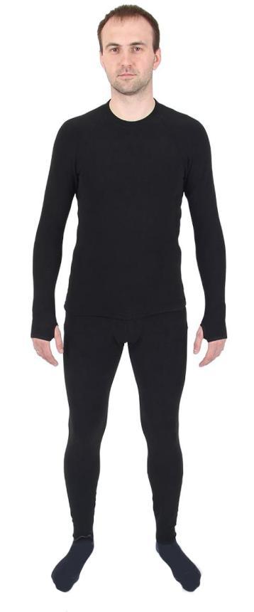 Термобелье Helios Thermo-Fleece S 42-44 рост 164 черный - фото предоставленно поставщиком 1