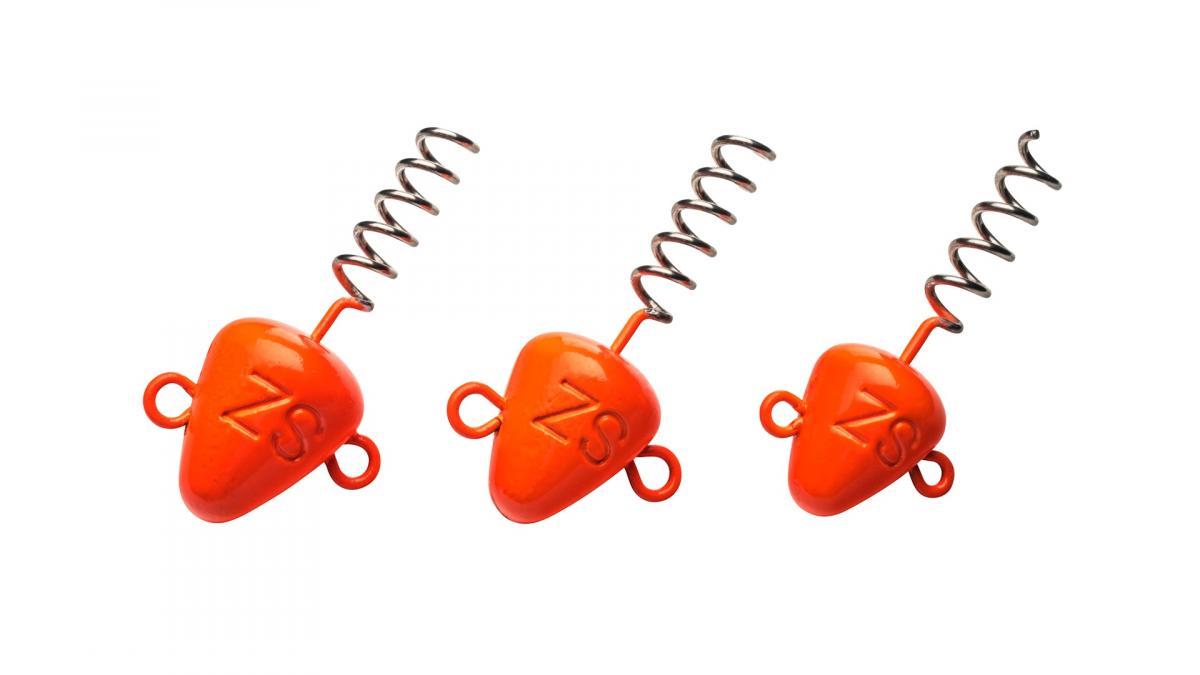 Штопор огруженый Svartzonker Screw-in-Head Fl. Orange 7гр