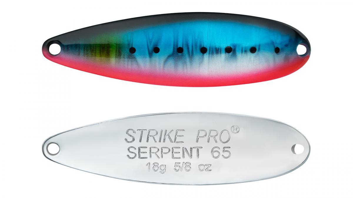 Блесна Strike Pro Serpent Single 65 ST-010AS A234-SBO-LU