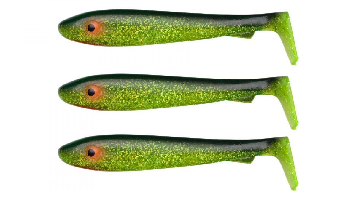 Приманка Svartzonker McRubber Big Bass 125 C19 Black'n Chatreuse