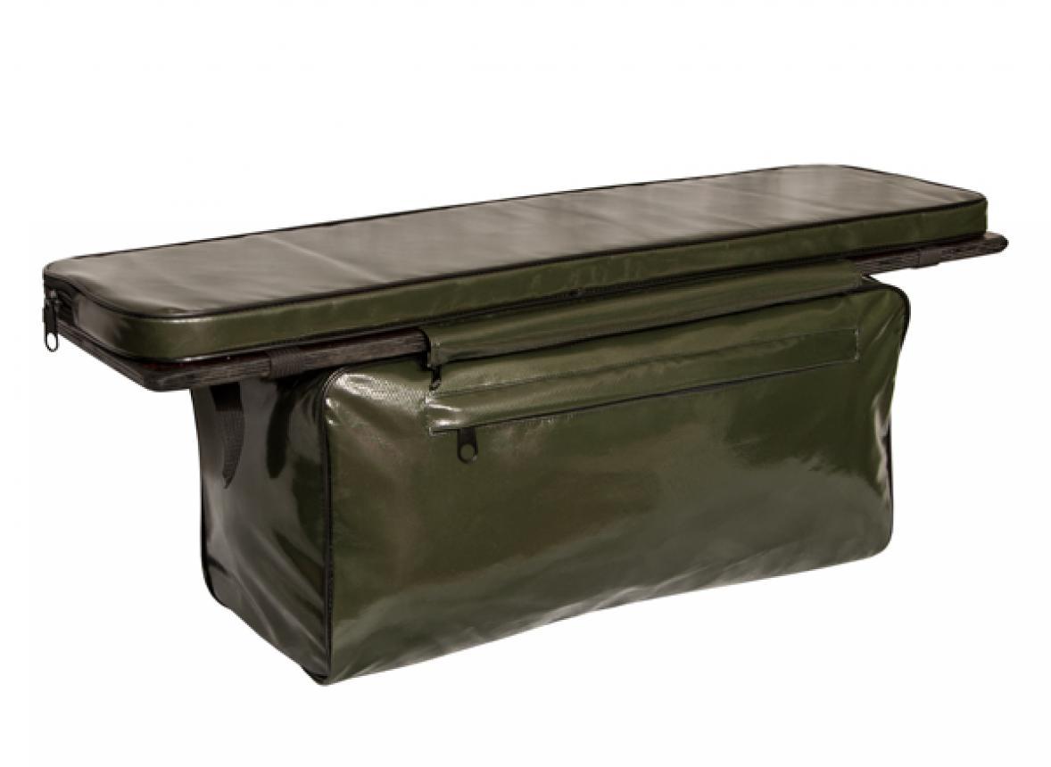 Мягкая накладка на лодочное сиденье с сумкой Speci.All 80х20см олива
