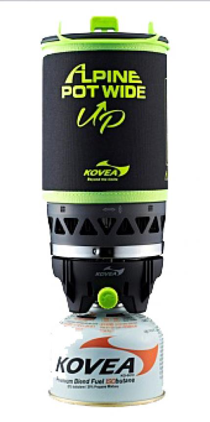 Газовая горелка Kovea Alpin Pot Wide KGB-0703WU