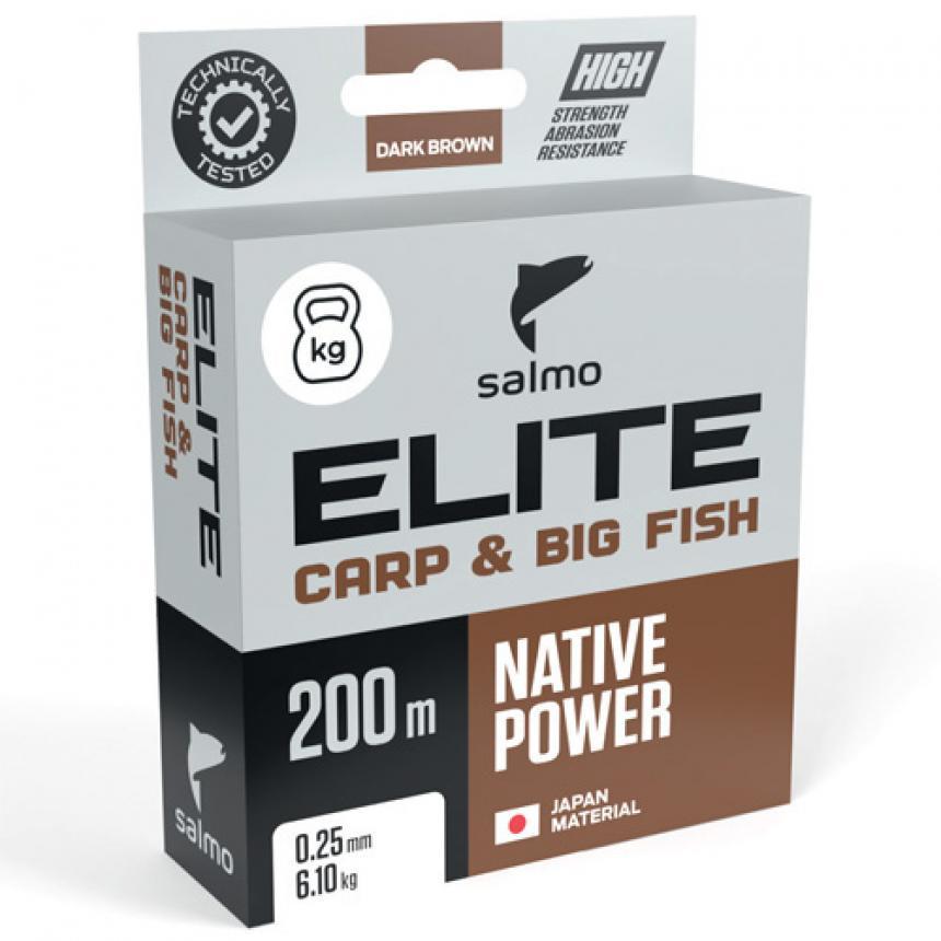 Леска Salmo Elite Carp&Big Fish 200м 0,40мм - фото предоставленно поставщиком 1