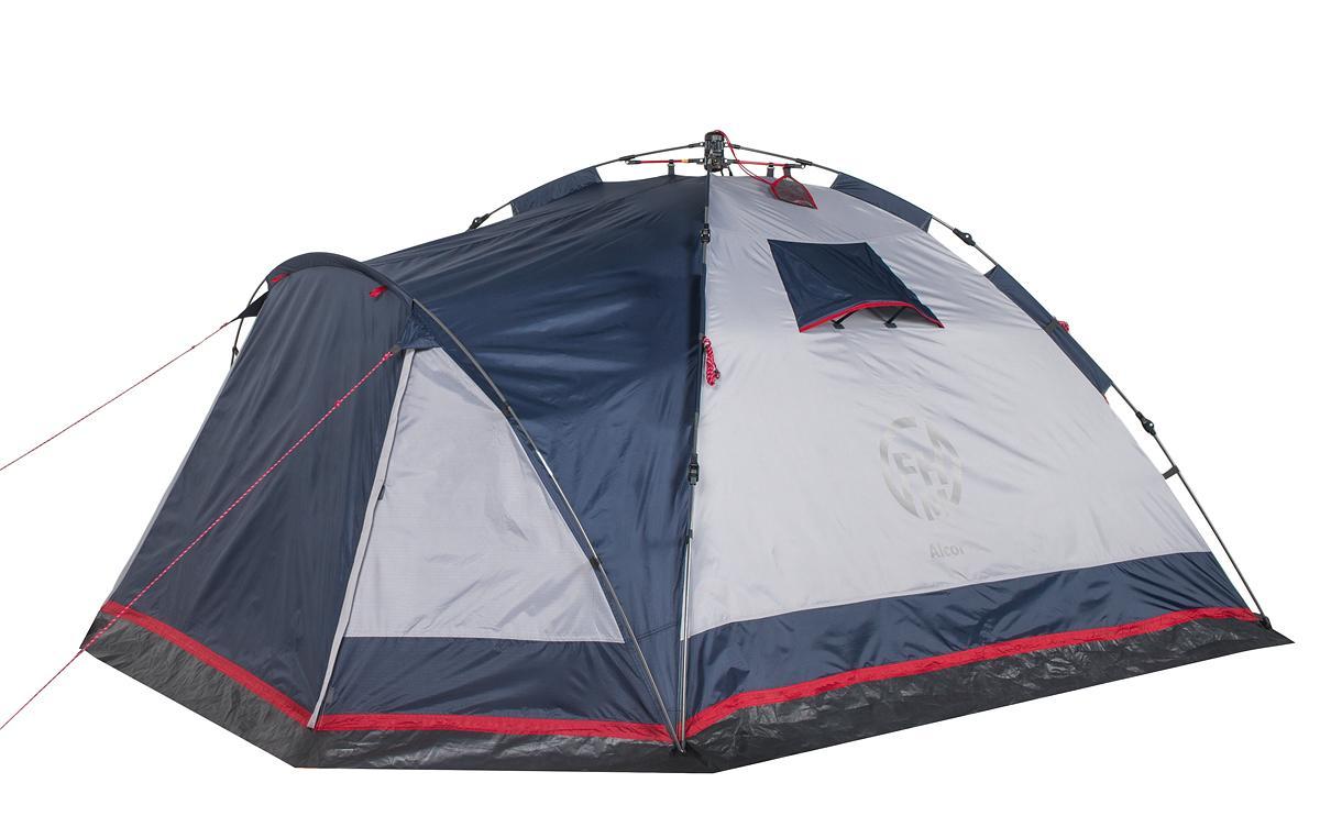 Палатка кемпинговая FHM Alcor 3 синий/серый