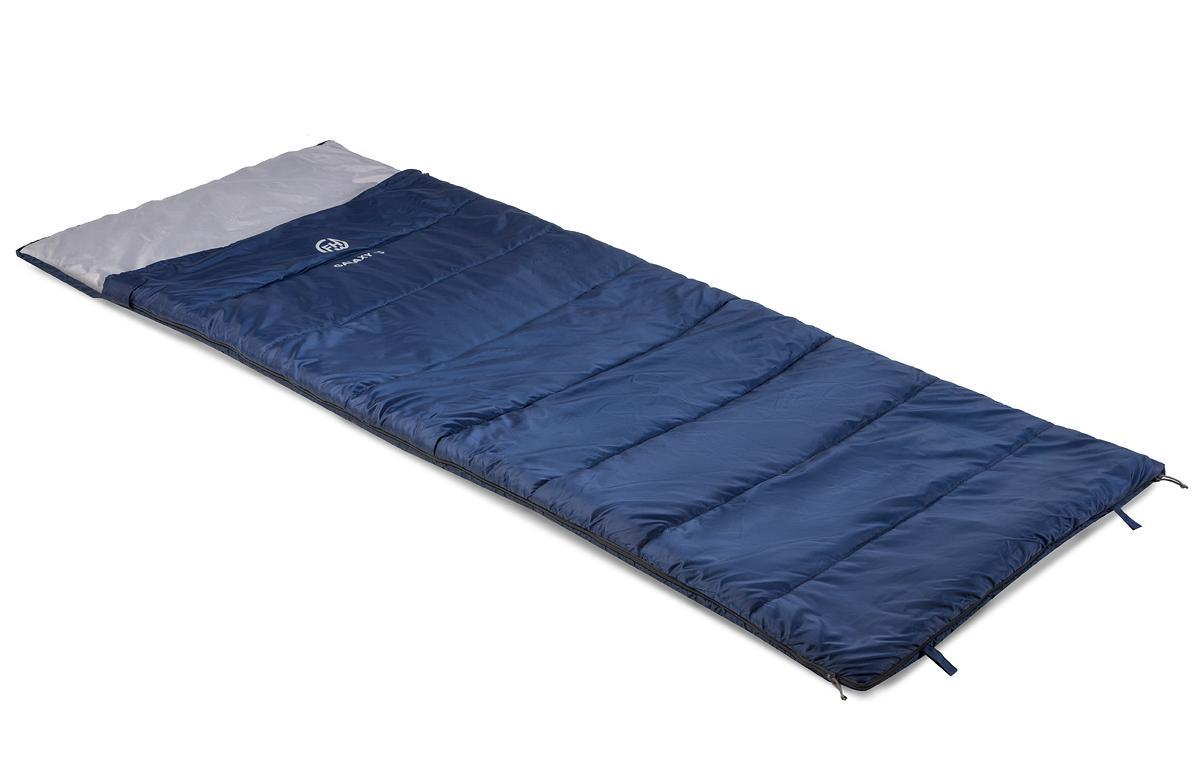 Спальный мешок FHM Galaxy -5 R синий/серый