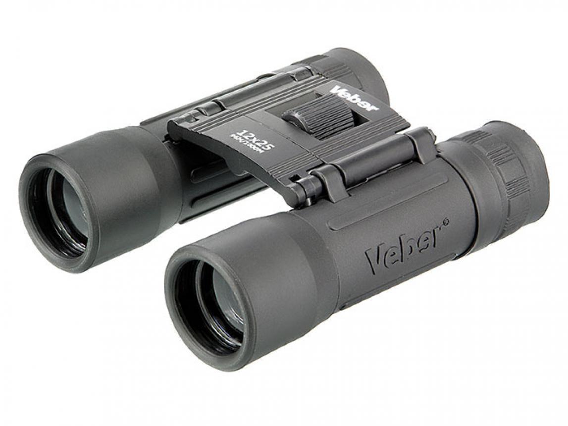 Бинокль Veber Sport БН 12x25 черный