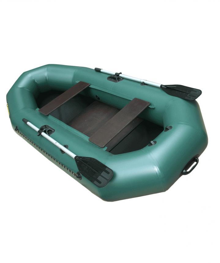 Лодка ПВХ Leader Компакт-265 гребная зеленый
