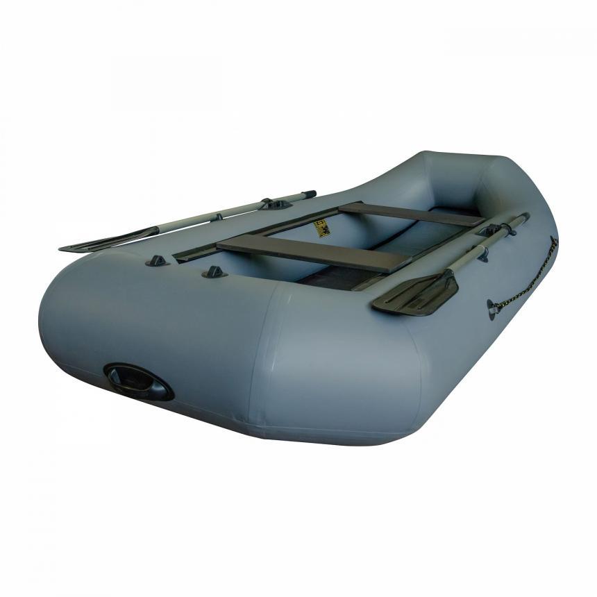 Лодка ПВХ Leader Компакт-290 гребная серый - фото предоставленно поставщиком 2