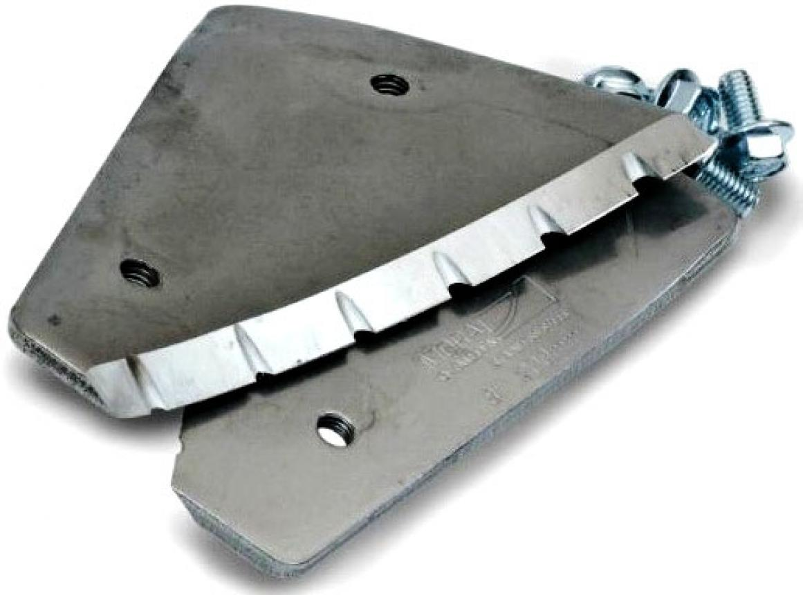 Ножи зубчатые Mora Ice для шнека мотоледобура 200мм