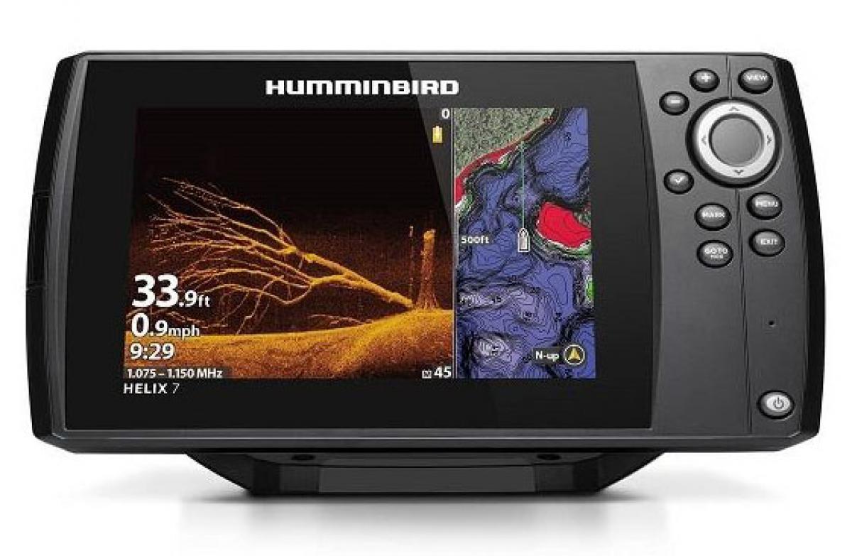 Эхолот Humminbird Hellix 7X MDI GPS G3N