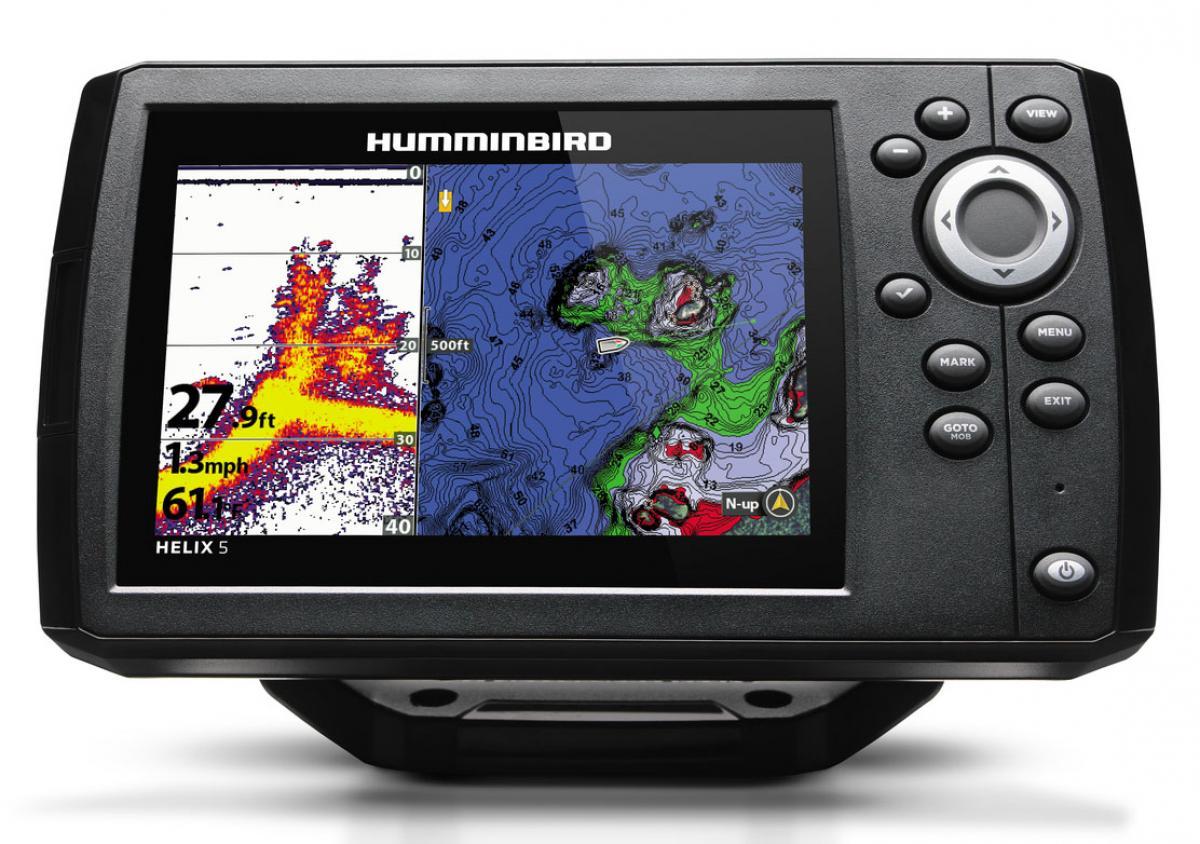 Эхолот Humminbird Hellix 5 Chirp GPS G2