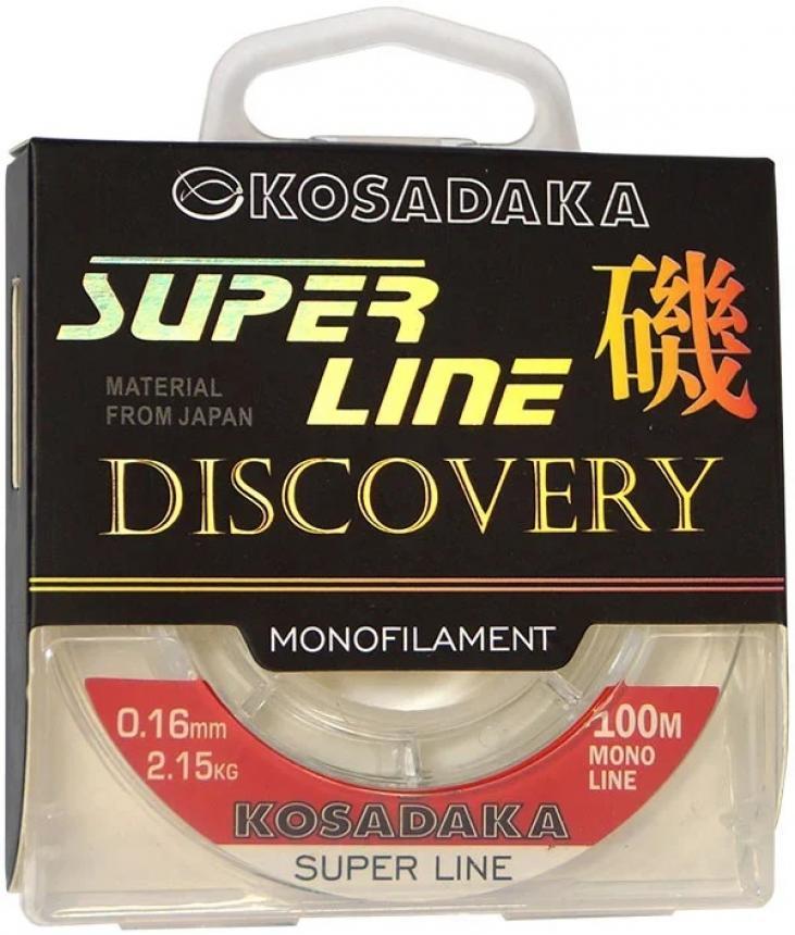 Леска Kosadaka Super Line Discovery 100м 0,16мм