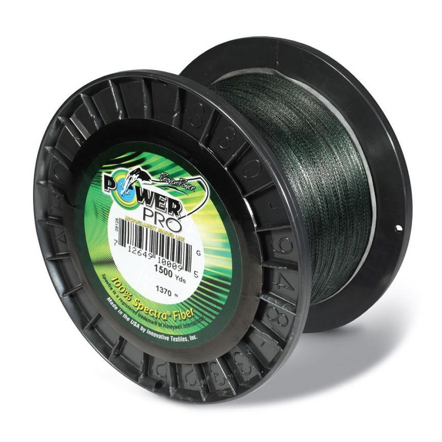 Шнур Power Pro Moss Green 1370м 0,10мм