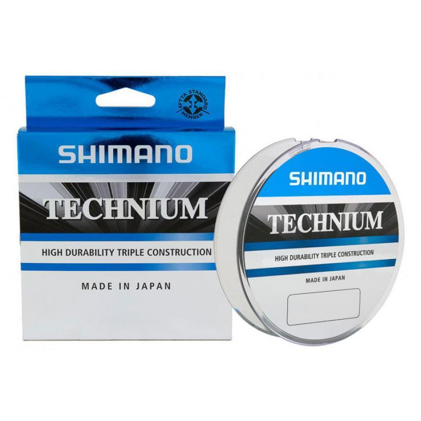 Леска Shimano Technium 200м 0,185мм