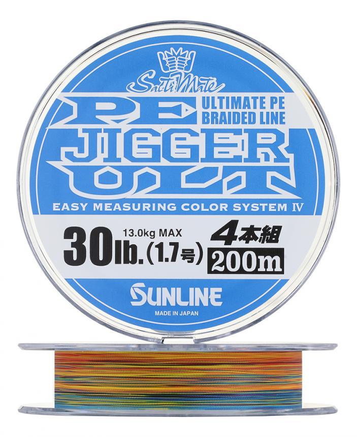 Шнур Sunline PE Jigger ULT 4braid 200м 1 – купить по цене 3469 рублей в Москве с доставкой по России в рыболовном интернет-магазине Spinningline