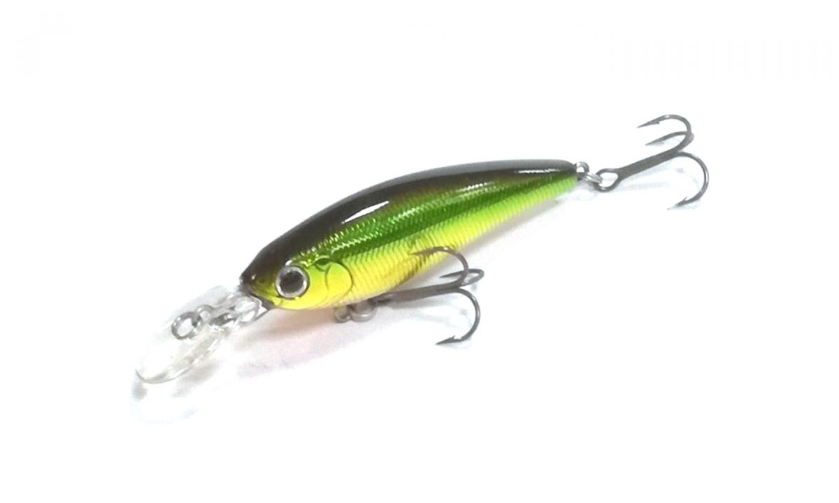 Воблер Daiwa Steez Shad 54F-SR Green Gold
