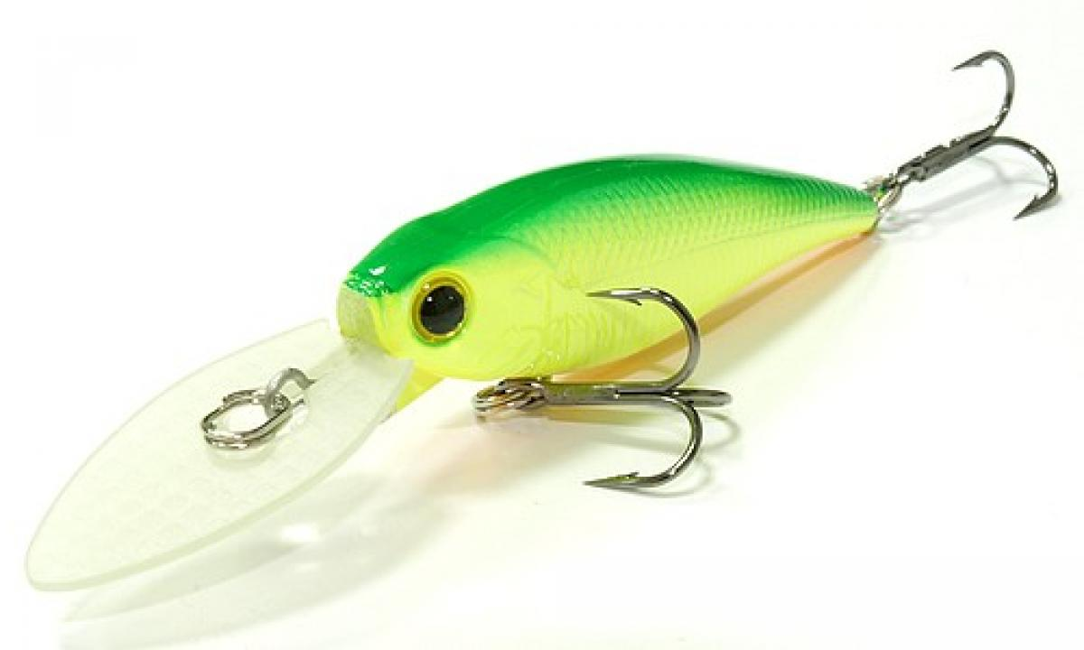 Воблер Lucky Craft Bevy Shad MK-II 60DD Green Lime Chart 133