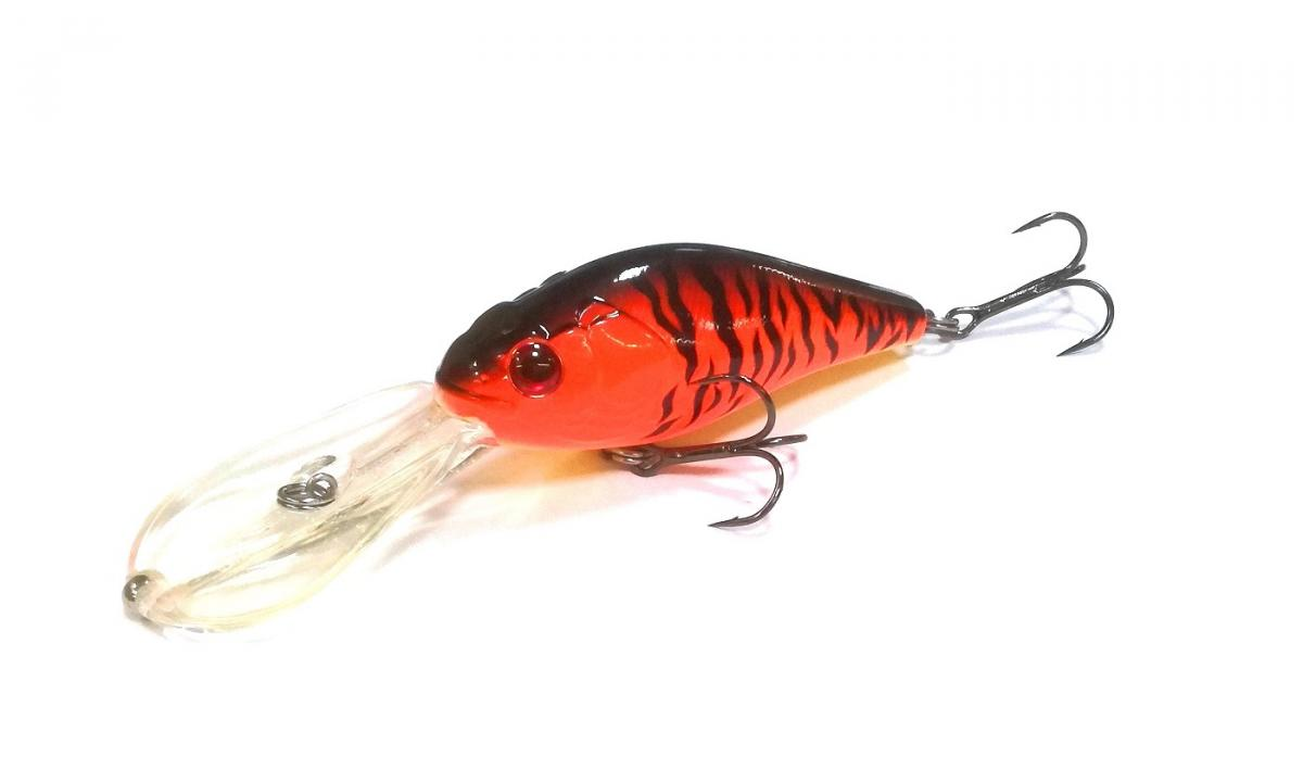 Воблер Panacea Shad Marauder 90F DR T002 Orange Tiger