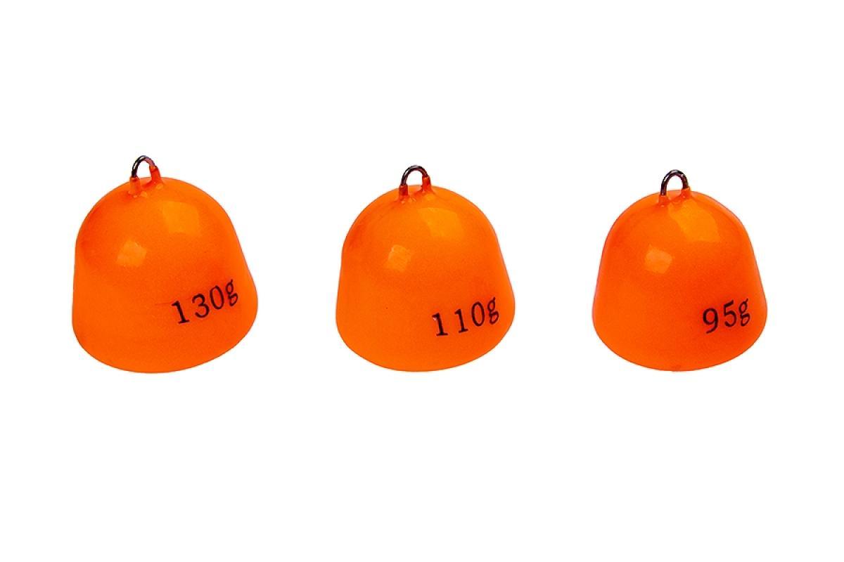 Грузило Higashi Bell Sinker Fluo Orange 110гр - фото предоставленно поставщиком 1