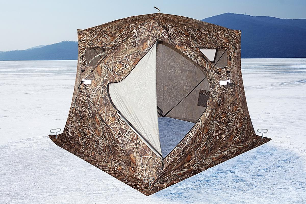 Палатка зимняя Higashi Camo Pyramid