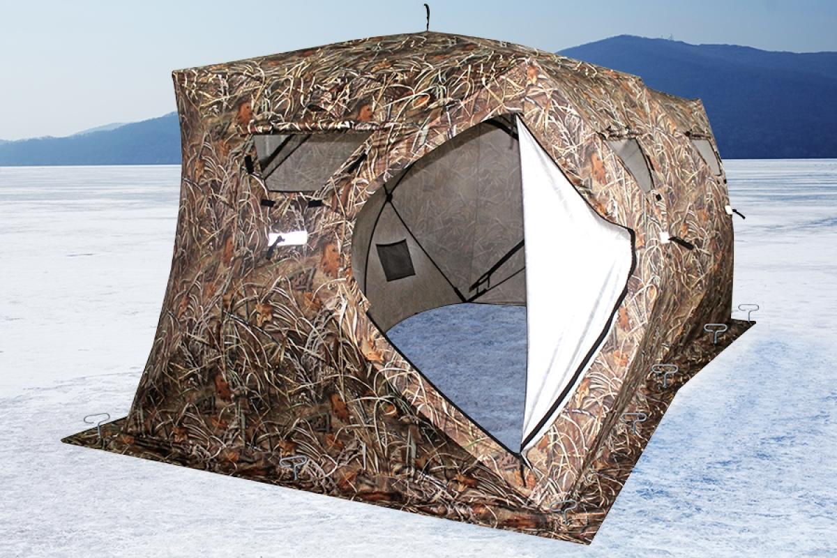 Палатка зимняя Higashi Double Camo Pyramid