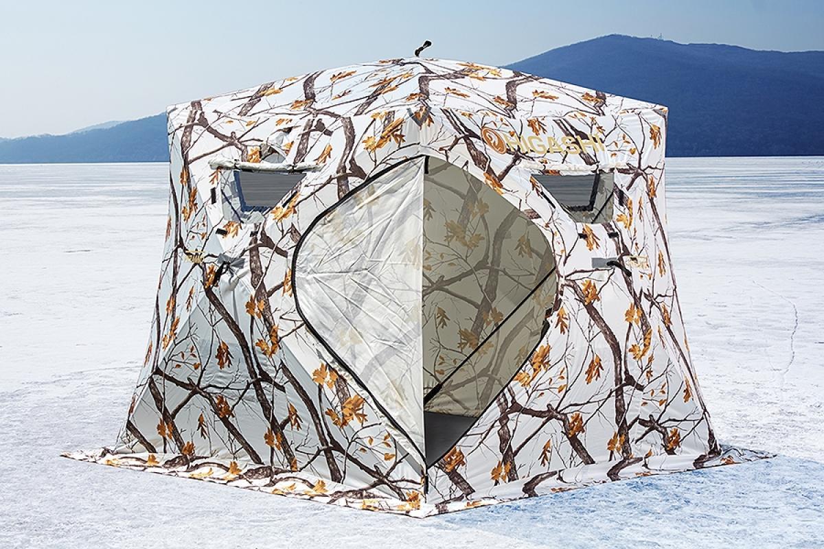 Палатка зимняя Higashi Winter Camo Pyramid