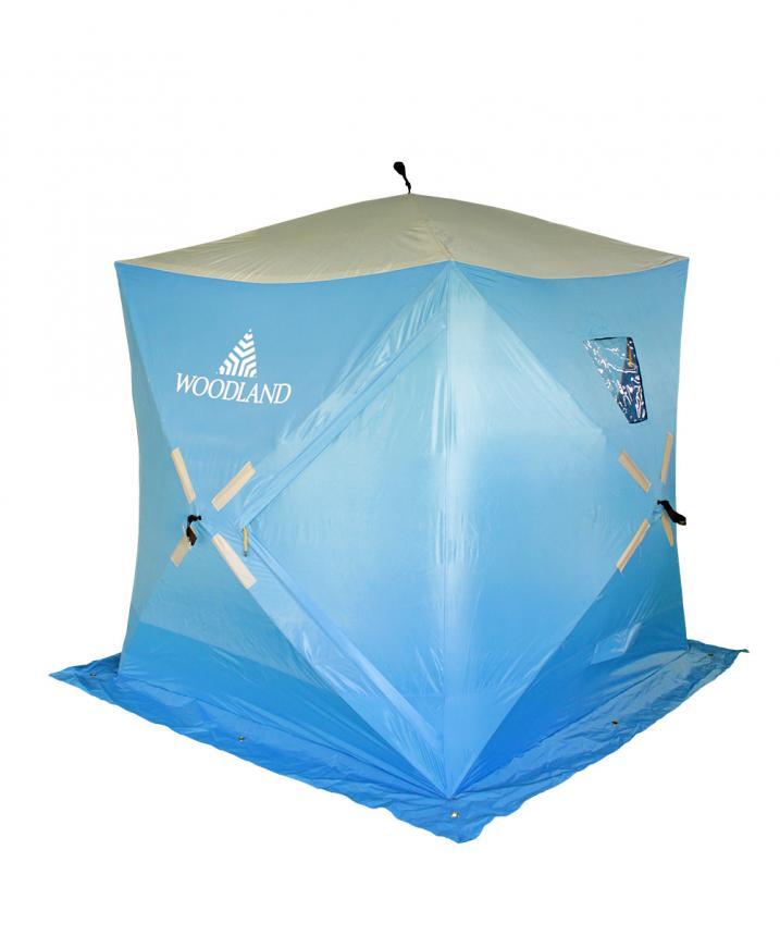 Палатка зимняя Woodland Ice Fish 2 синий New - фото предоставленно поставщиком 3