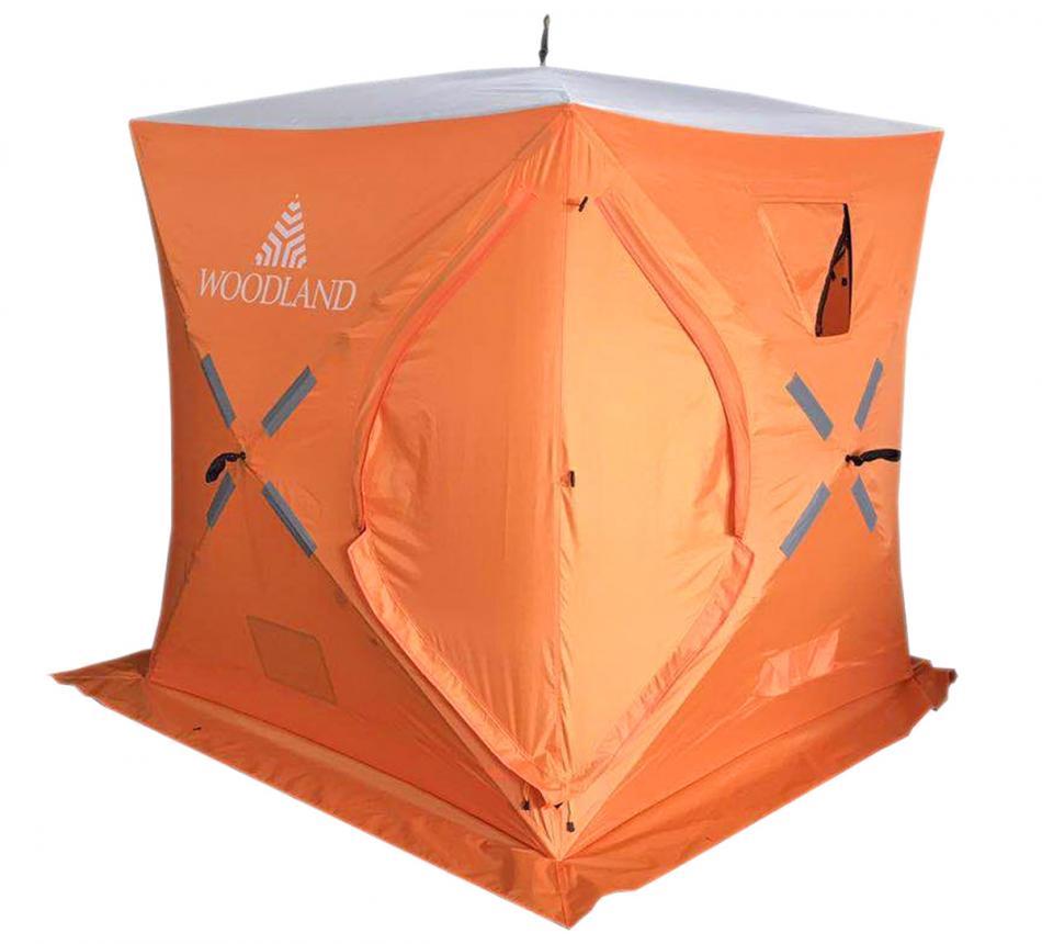 Палатка зимняя Woodland Ice Fish 2 оранжевый New