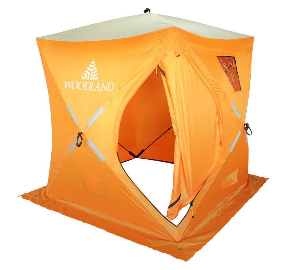 Палатка зимняя Woodland Ice Fish 2 оранжевый New - фото предоставленно поставщиком 2