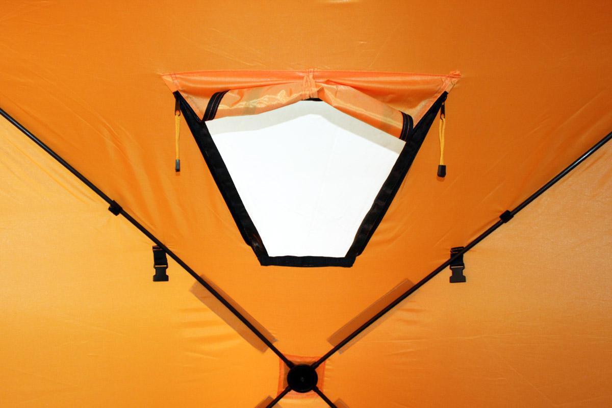 Палатка зимняя Woodland Ice Fish 2 оранжевый New - фото предоставленно поставщиком 3