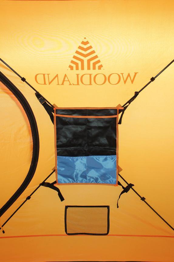 Палатка зимняя Woodland Ice Fish 2 оранжевый New - фото предоставленно поставщиком 5