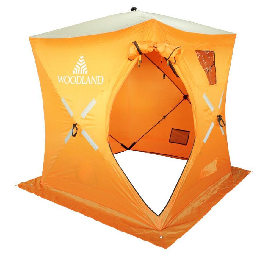 Палатка зимняя Woodland Ice Fish 2 оранжевый New - фото предоставленно поставщиком 8