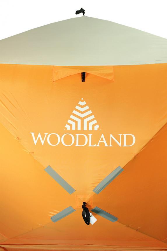 Палатка зимняя Woodland Ice Fish 2 оранжевый New - фото предоставленно поставщиком 11