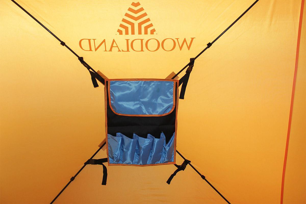 Палатка зимняя Woodland Ice Fish 2 оранжевый New - фото предоставленно поставщиком 14