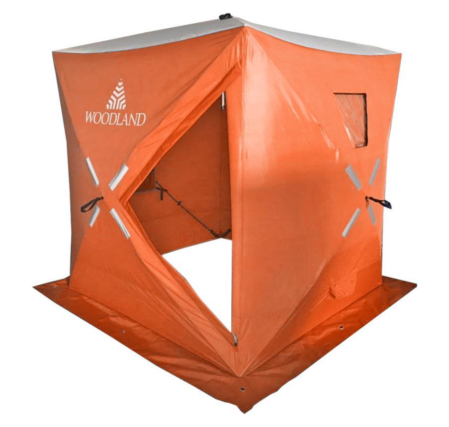 Палатка зимняя Woodland Ice Fish 4 оранжевый New