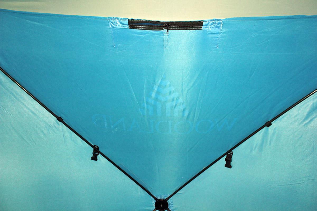 Палатка зимняя Woodland Ice Fish 4 синий New - фото предоставленно поставщиком 2