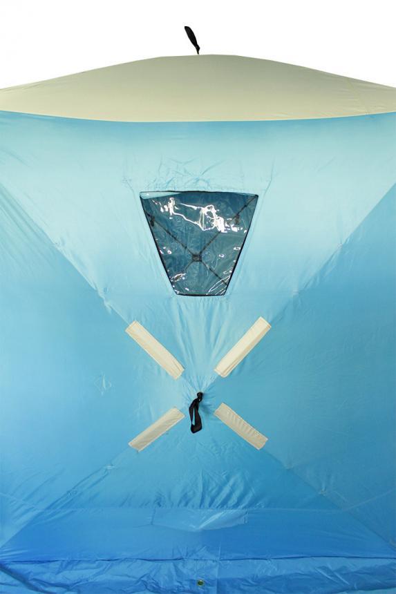 Палатка зимняя Woodland Ice Fish 4 синий New - фото предоставленно поставщиком 5