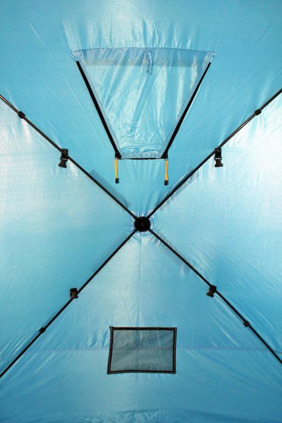 Палатка зимняя Woodland Ice Fish 4 синий New - фото предоставленно поставщиком 7