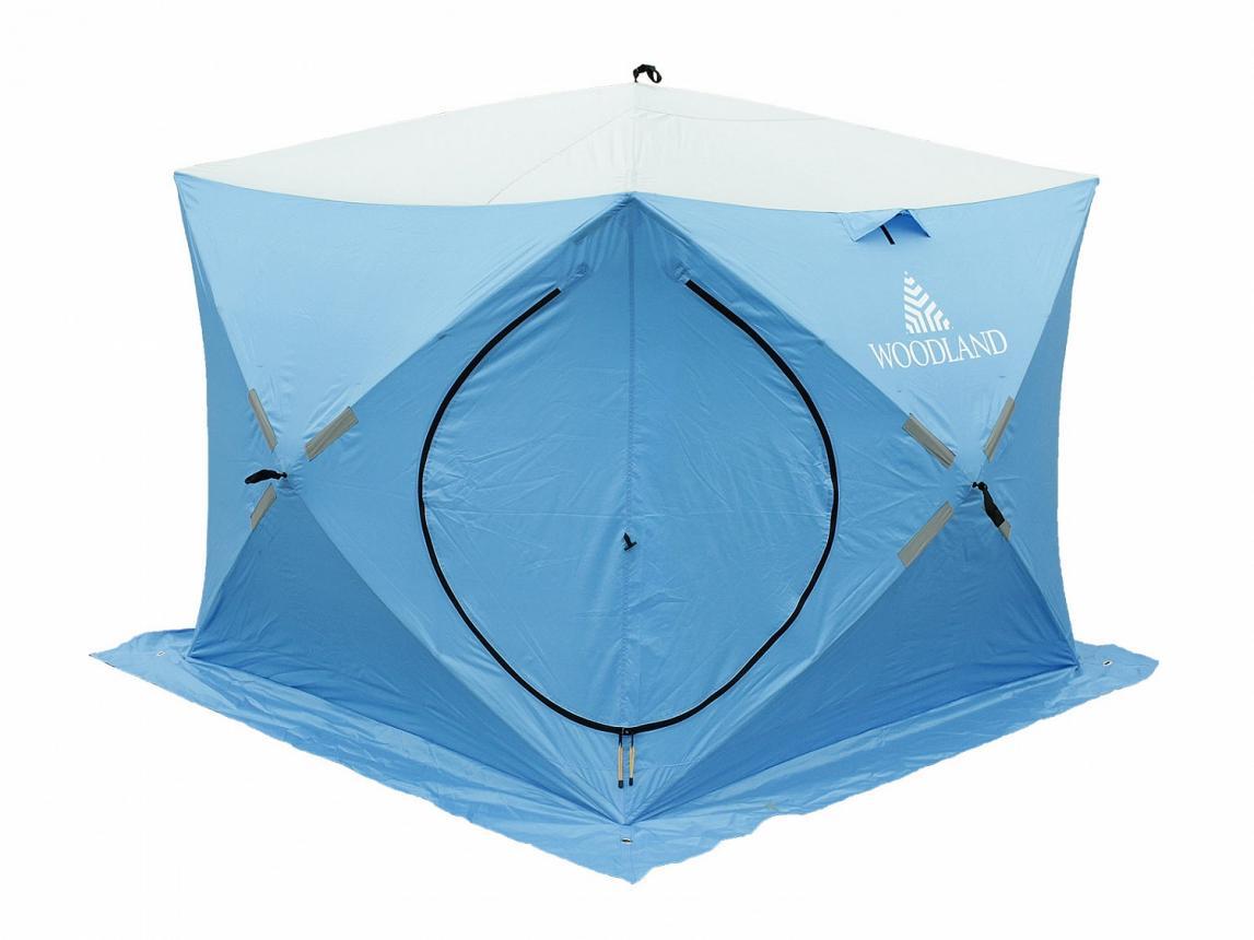 Палатка зимняя Woodland Ice Fish Double синий