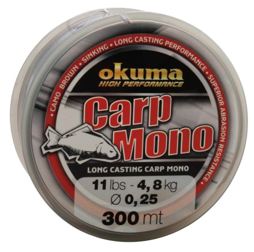 Леска Okuma Carp Mono 300м 0,35мм