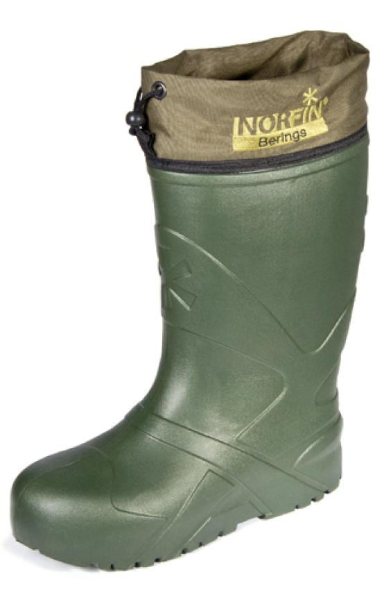 Сапоги Norfin Berings с манжетой олива -45 Eva 40-41