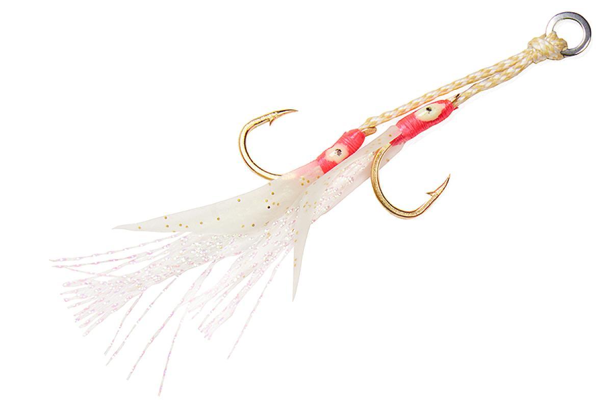 Крючок Asari Double Assist Hook Flash Fly SS №1