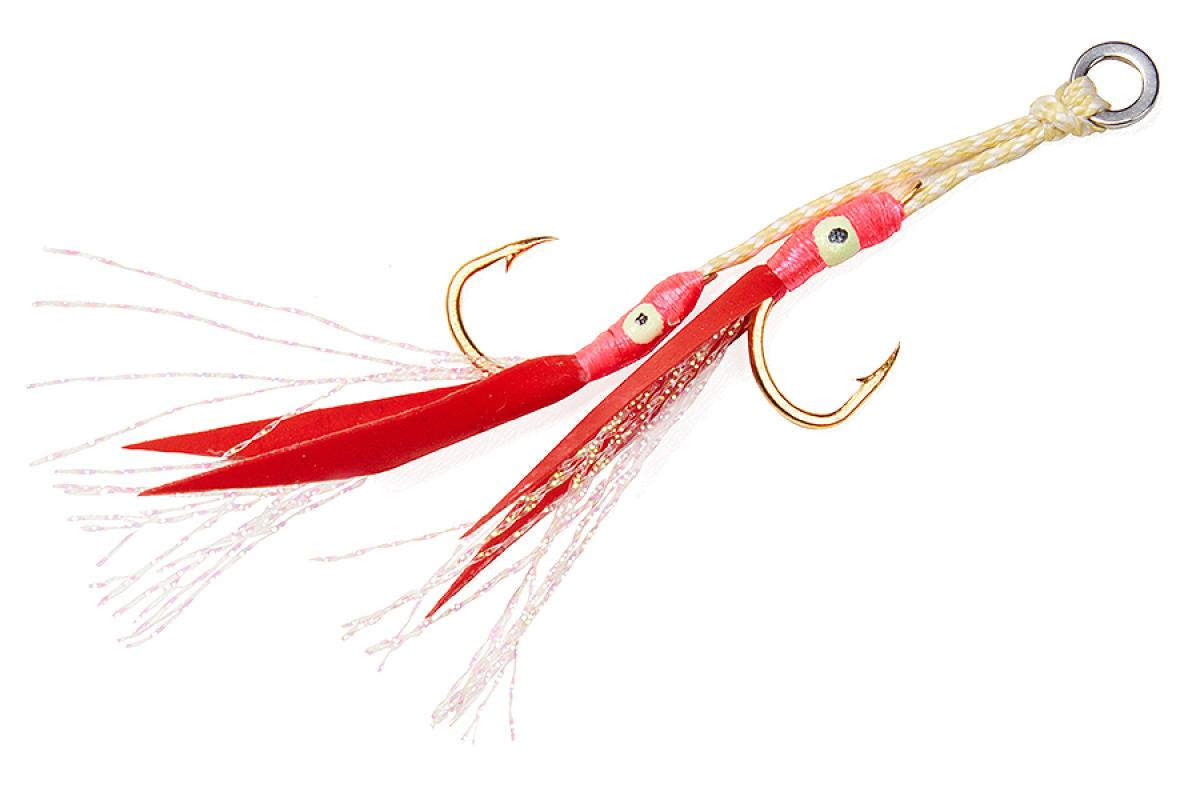 Крючок Asari Double Assist Hook Flash Fly M №3