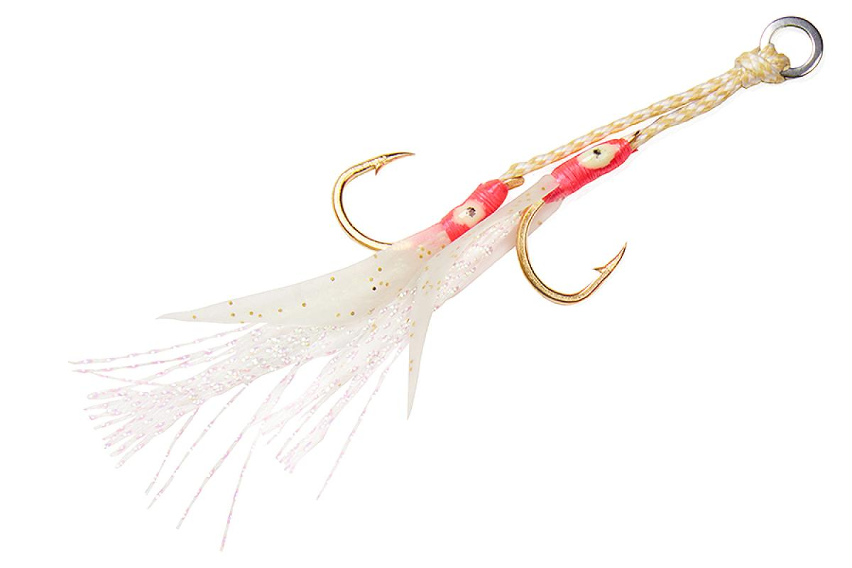 Крючок Asari Double Assist Hook Flash Fly M №1
