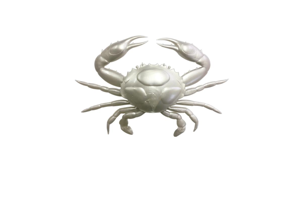 Приманка Nikko Super Crab 6 CO1 Pearl White